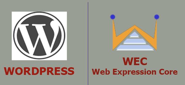 Wordpress vs WEC - Find the best Web CMS