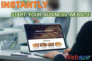 Get Instant hosted website